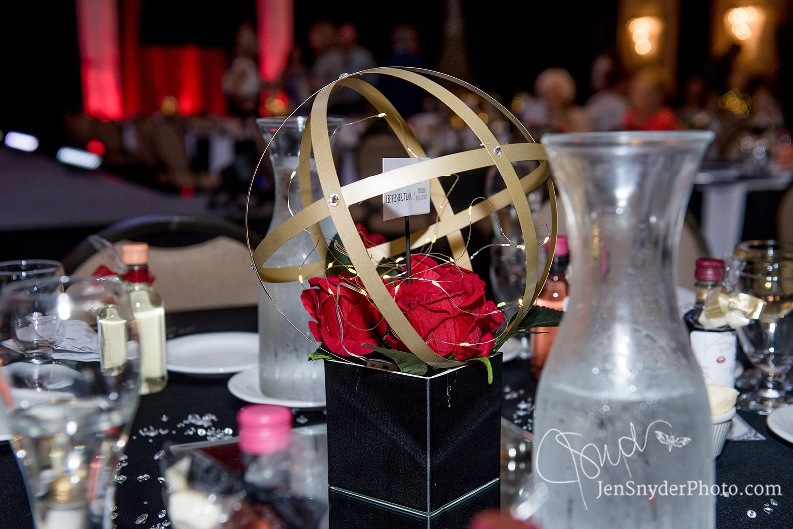CPWN Fashion Show 2019 centerpiece